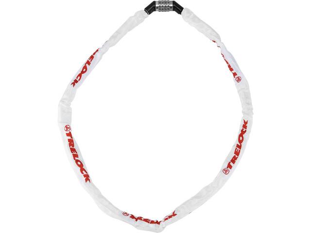 Trelock BC 115 Code Chain Lock white